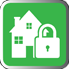 House and Padlock Icon